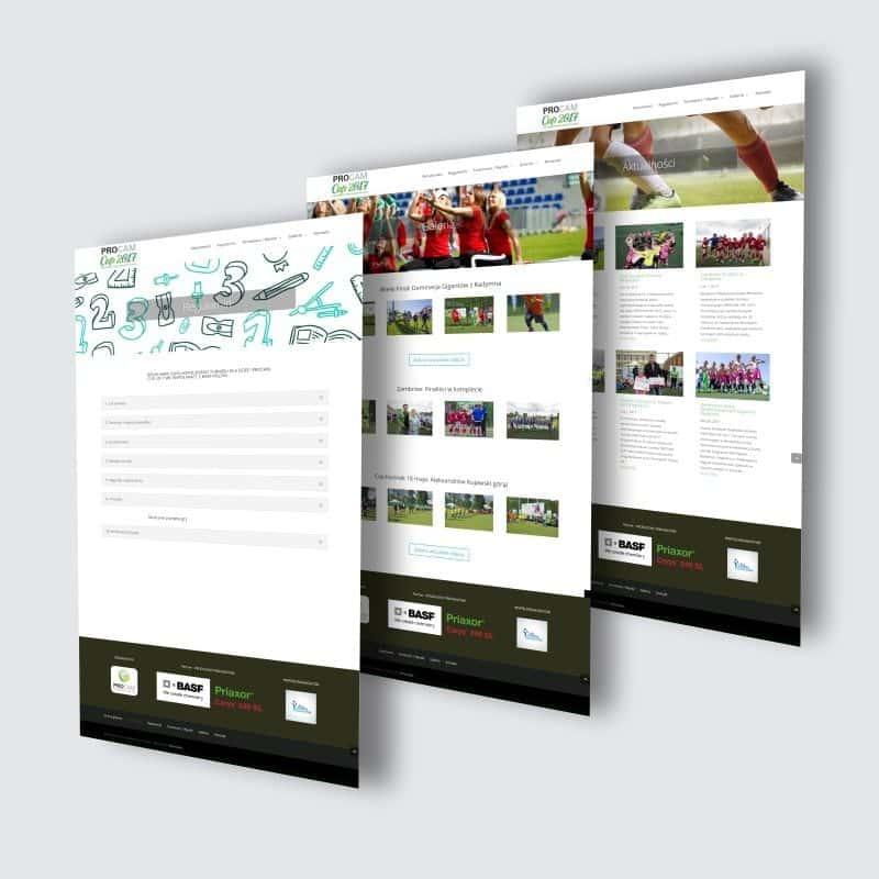projektowanie stron www przyklad podstrony