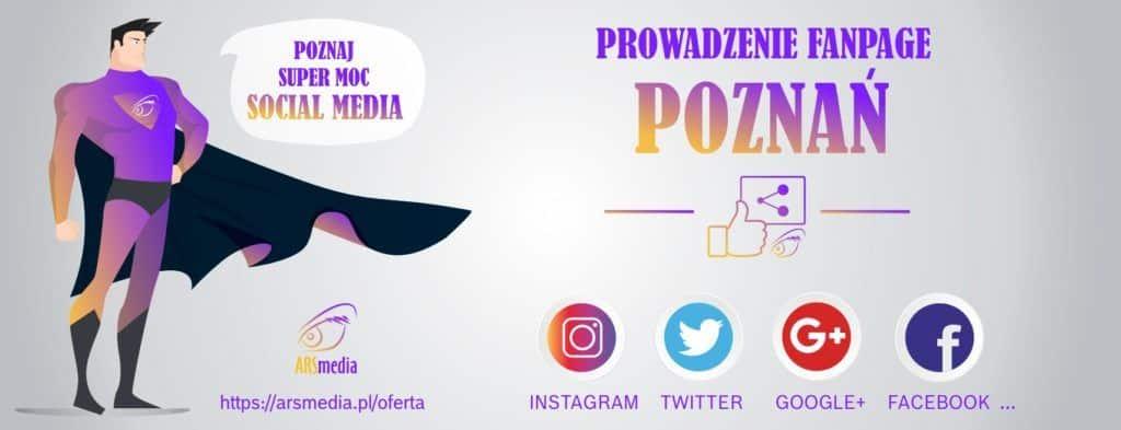 prowadzenie fanpage poznan