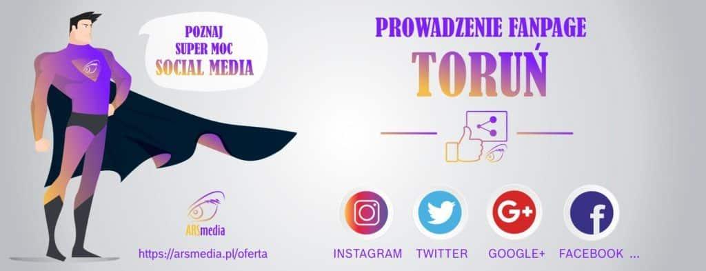 prowadzenie fanpage Toruń