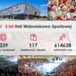 projektowanie logo - Hala Widowiskowo-Sportowa reklama www oraz teczka