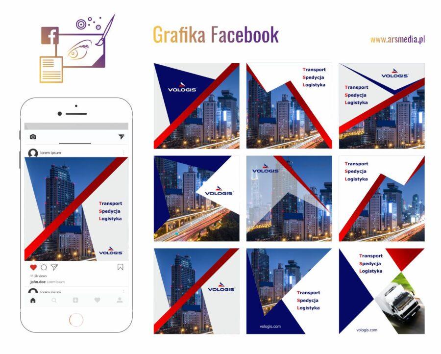 Grafika Facebook - pozytywnie buduj wizerunek firmy/marki - pozyskaj więcej lajków dzięki grafice Facebook / Instagram