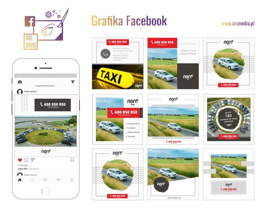 Facebook grafika Fanpage - szablon graficzny postów Facebook Instagram - pozyskaj więcej fanów