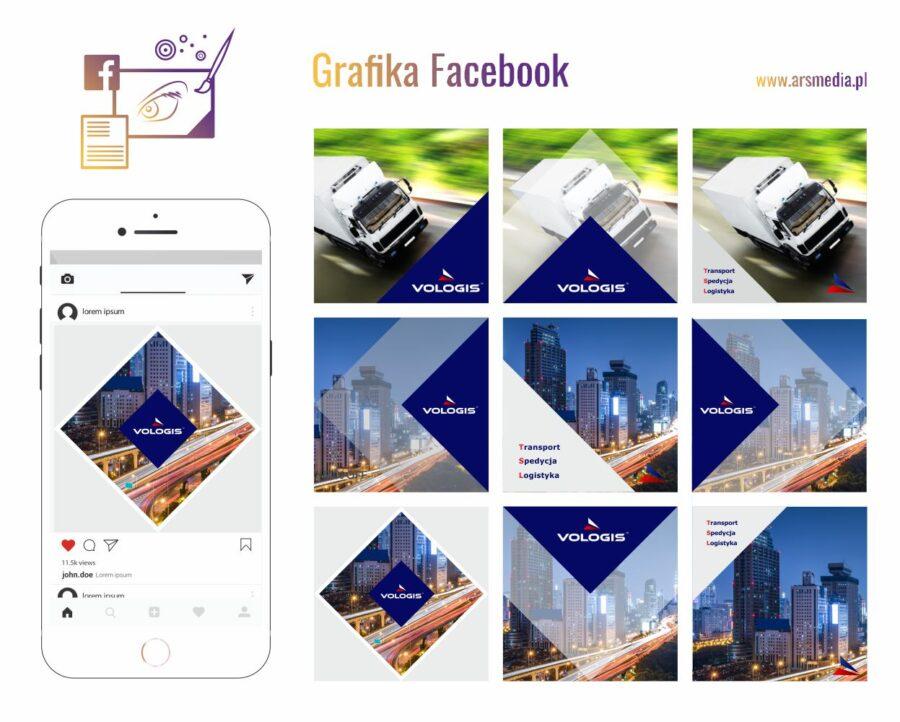 grafika Instagram - szablon Instagram projektowanie graficzne