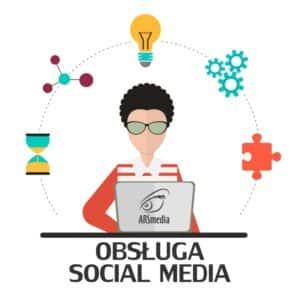 obsługa social media