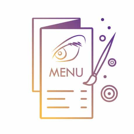 projekt menu