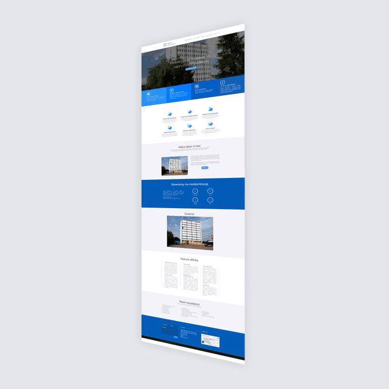 Strona internetowa biura-koszalin.pl – wynajem pomieszczeń biurowych w Koszalinie