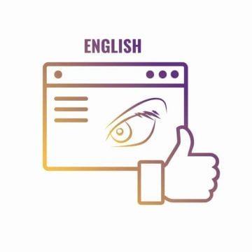 running a facebook page in english