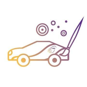 car graphic design